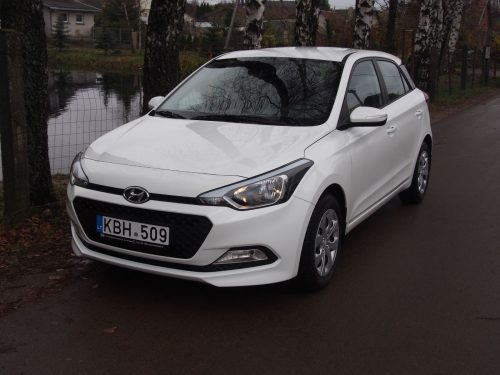 Hyundai i20 hečbeko nuoma