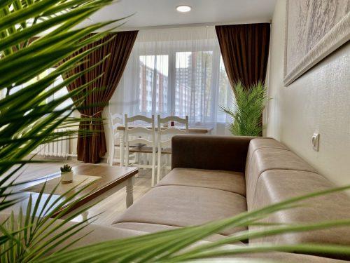 Puikiai įrengtas 2 k. butas/apartamentas prie Akropolio (Klaipėdos centras)