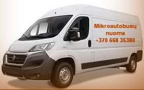 Krovininio transporto ir mikroautobusų ir priekabų nuoma